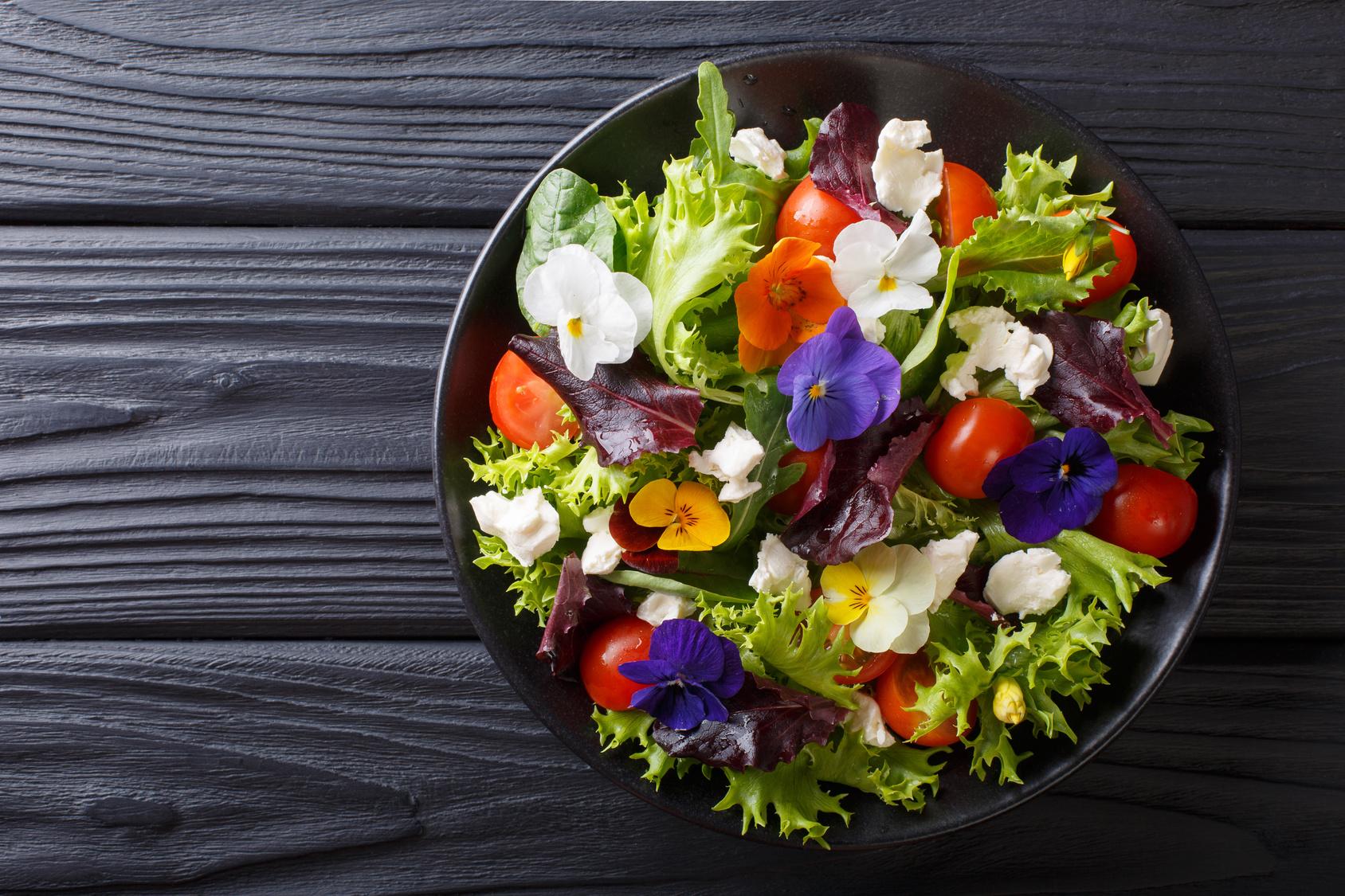 Fiori E Piante Commestibili quali sono i fiori commestibili da raccogliere in primavera?