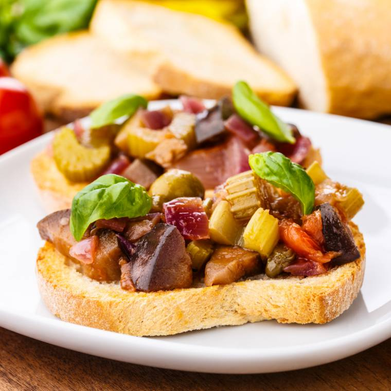 caponata siciliana, gli ingredienti